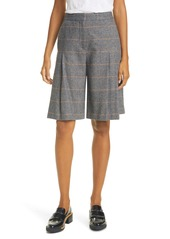 rag & bone Lani Pleated Wool Blend Skort