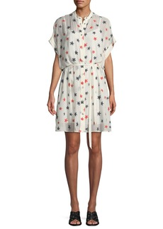 Rag & Bone Lary Star-Print Shirtdress