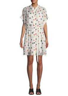 Rag & Bone Lary Star-Print Shirtdress