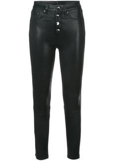 Rag & Bone leather jeans - Black
