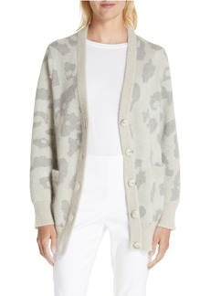 rag & bone Leopard Print Cardigan