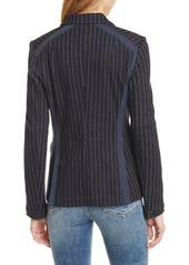 rag & bone Lexington Pinstripe Cotton Blazer