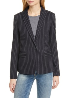 rag & bone Lexington Pinstripe Cotton Blazer