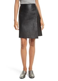 rag & bone Lloyd Leather Skirt