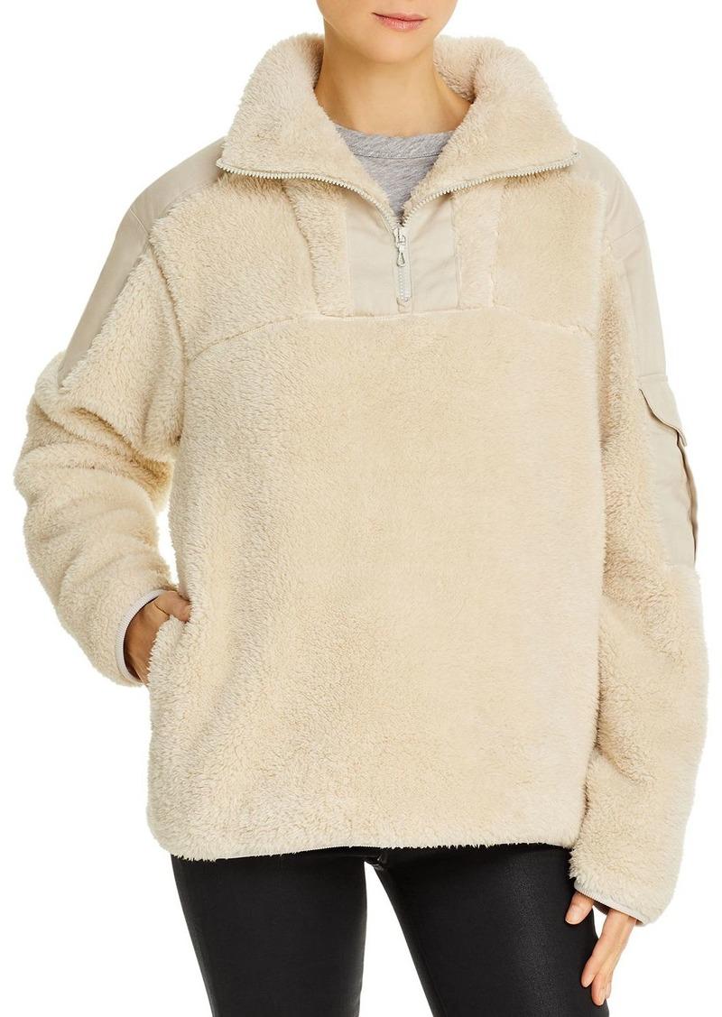 rag & bone Logan Sherpa Sweatshirt