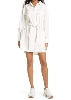 rag & bone Long Sleeve Cotton Shirtdress
