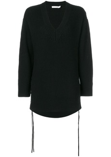 Rag & Bone loose V-neck jumper - Black