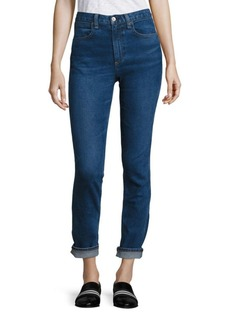 Rag & Bone Lou High-Rise Cuffed Skinny Jeans/Northwood