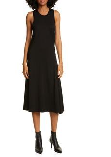 rag & bone Luca Lace-Up Midi Dress