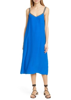 rag & bone Luca Silk Midi Slipdress