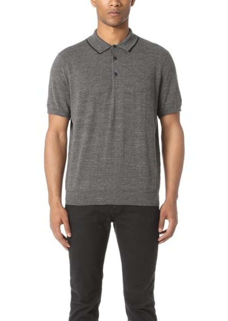 Rag bone rag bone lucas polo shirt casual shirts for Rag and bone mens shirts sale