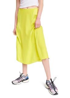 rag & bone Lucille Silk Skirt