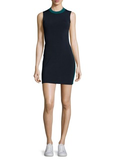 Rag & Bone Lucine Sleeveless Two-Tone Sheath Dress