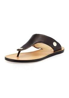 Rag & Bone Luna Flat Leather Thong Sandal