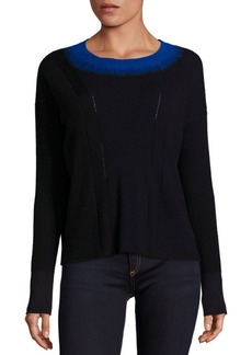 Rag & Bone Lynette Contrast Trim Sweater