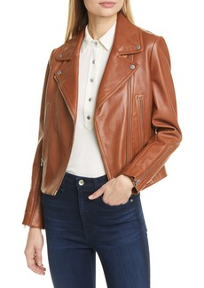 rag & bone Mack Lambskin Leather Jacket