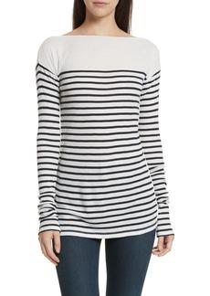 rag & bone Madison Stripe Long Sleeve Top
