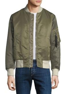 Rag & Bone Men's Manston Colorblock Bomber Jacket