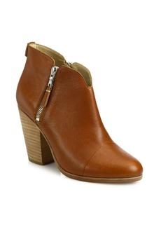 Rag & Bone Margot Leather Zip Booties