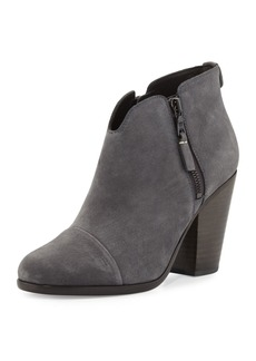 Rag & Bone Margot Nubuck Leather Ankle Boot
