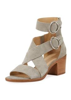 Rag & Bone Mari Suede Strappy Flat Sandal