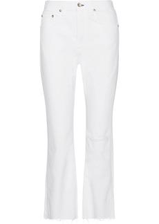 rag & bone Marilyn cropped high-rise flared jeans