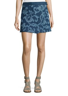 Rag & Bone Marina Jean Mini Skirt