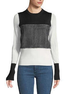 Rag & Bone Marissa Crewneck Long-Sleeve Pullover