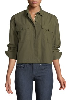 Rag & Bone Mason Cropped Twill Shirt