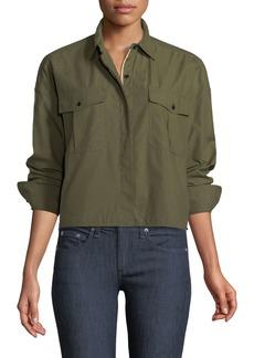 Rag & Bone Mason Cropped Twill Shirt