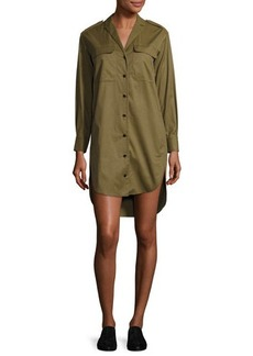 Rag & Bone Mason Long-Sleeve Shirt Dress