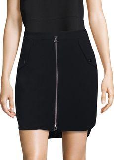 Rag & Bone Maverick Zip Skirt