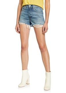Rag & Bone Maya High-Rise Shorts