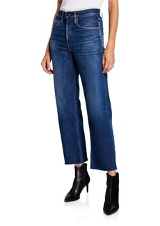 Rag & Bone Maya High-Rise Straight Ankle Jeans