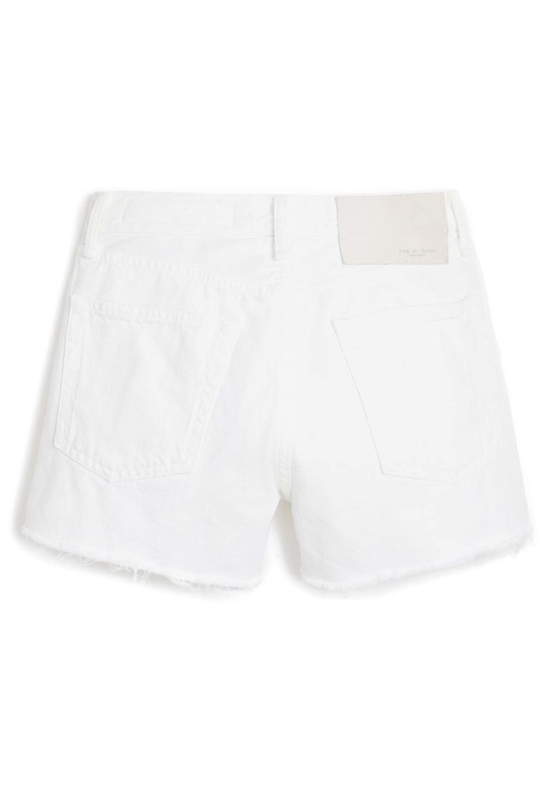 rag & bone Maya High Waist Denim Shorts