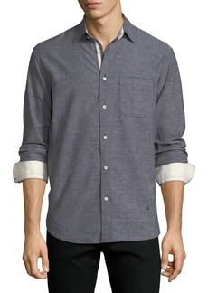 Rag & Bone Men's Beach Contrast-Face Shirt