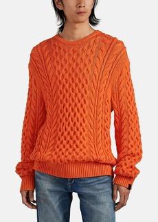 Rag & Bone Men's Cable-Knit Merino Wool Sweater