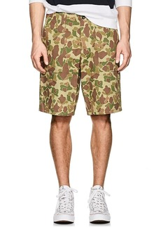 Rag & Bone Men's Camouflage Cotton Twill Field Shorts