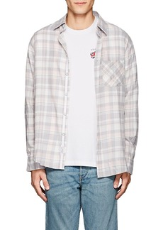 Rag & Bone Men's Checked Cotton Flannel Fit 3 Shirt