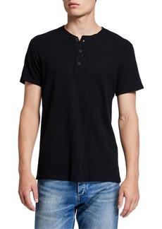 Rag & Bone Men's Classic Short-Sleeve Henley Shirt