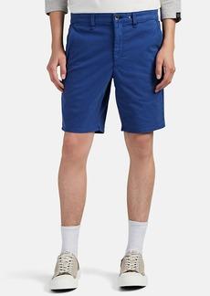 Rag & Bone Men's Cotton Flat-Front Shorts