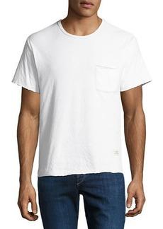 Rag & Bone Men's Double-Knit Cotton T-Shirt