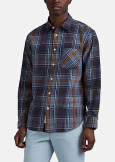 Rag & Bone Men's Fit 3 Plaid Cotton Flannel Shirt