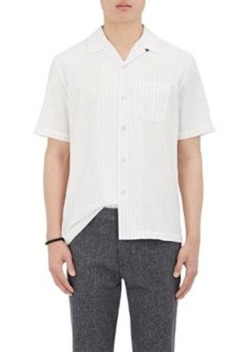 rag bone rag bone men 39 s glenn cotton bowling shirt