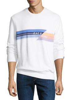 Rag & Bone Men's Glitch Graphic Sweatshirt