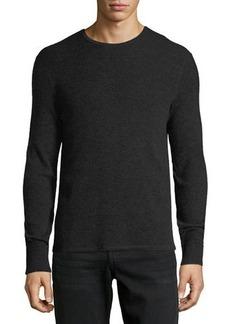 Rag & Bone Men's Gregory Waffle-Knit Thermal Shirt