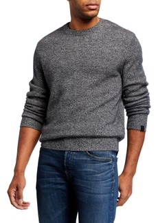 Rag & Bone Men's Haldon Crewneck Marled Cashmere Sweater
