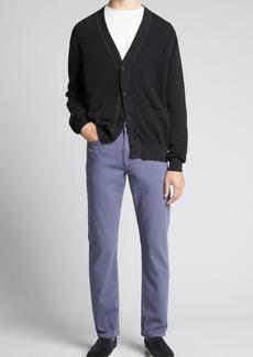 Rag & Bone Men's Hemp-Blend Cardigan Sweater