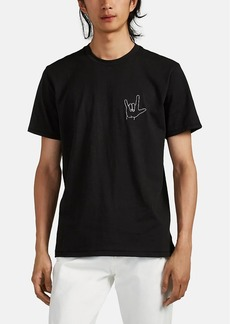 "Rag & Bone Men's ""I Love You"" Cotton T-Shirt"