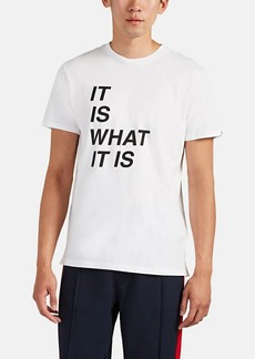 "Rag & Bone Men's ""It Is What It Is"" Cotton T-Shirt"